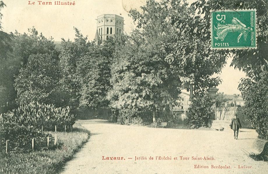 Les jardins de l'évêché Saint Alain