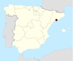 El Vendrell en Espagne