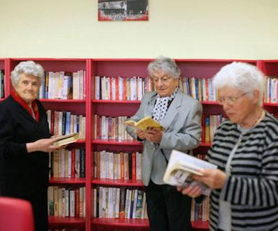 La bibliothèque du Foyer