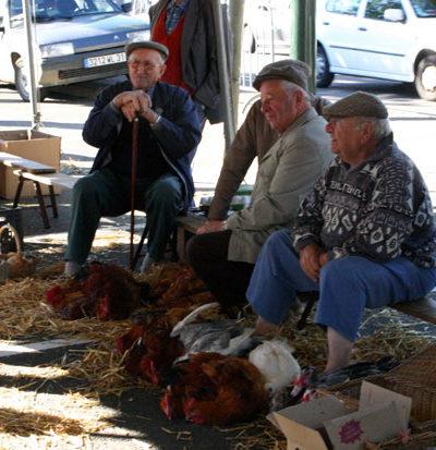 Vendeurs de volailles