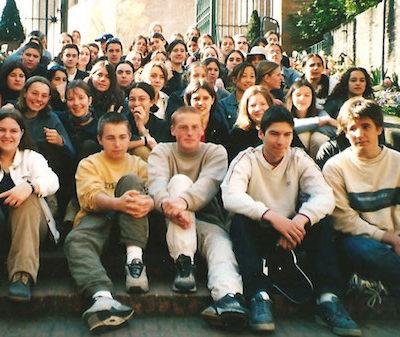 Echange scolaire (mars 2002)