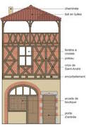 photo maison mediévale
