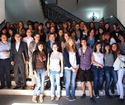 Echange scolaire Talavera (avril 2009)