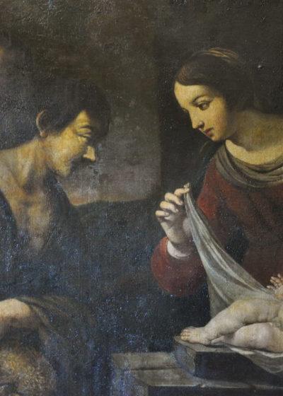 Vierge et Berger, Anonyme, XVIIe